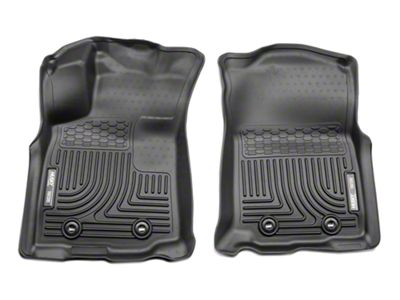 Husky WeatherBeater Front Floor Liners - Black (18-19 Tacoma)