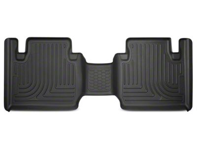 Husky WeatherBeater 2nd Seat Floor Liner - Black (12-19 Tacoma Access Cab)