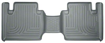 Husky WeatherBeater 2nd Seat Floor Liner - Gray (12-19 Tacoma Access Cab)
