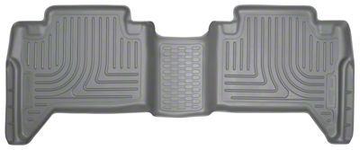 Husky WeatherBeater 2nd Seat Floor Liner - Gray (16-19 Tacoma Double Cab)