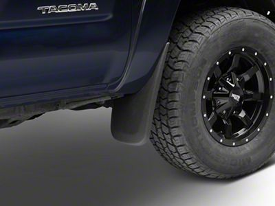 Husky Custom Molded Front & Rear Mud Guards (05-15 Tacoma w/ OE Fender Flares)