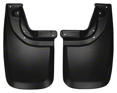 Husky Custom Molded Rear Mud Guards (05-15 Tacoma w/ OE Fender Flares)