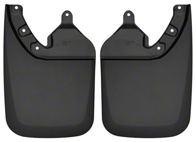 Husky Custom Molded Rear Mud Guards (16-19 Tacoma w/ OE Fender Flares)