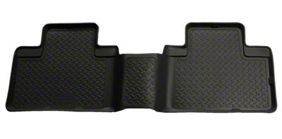 Husky Classic 2nd Seat Floor Liner - Black (05-15 Tacoma Double Cab)
