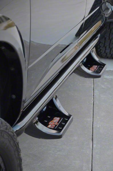 N-Fab Wheel 2 Wheel N-Durastep Side Step Bars - Semi-Gloss Black (05-15 Tacoma Double Cab)