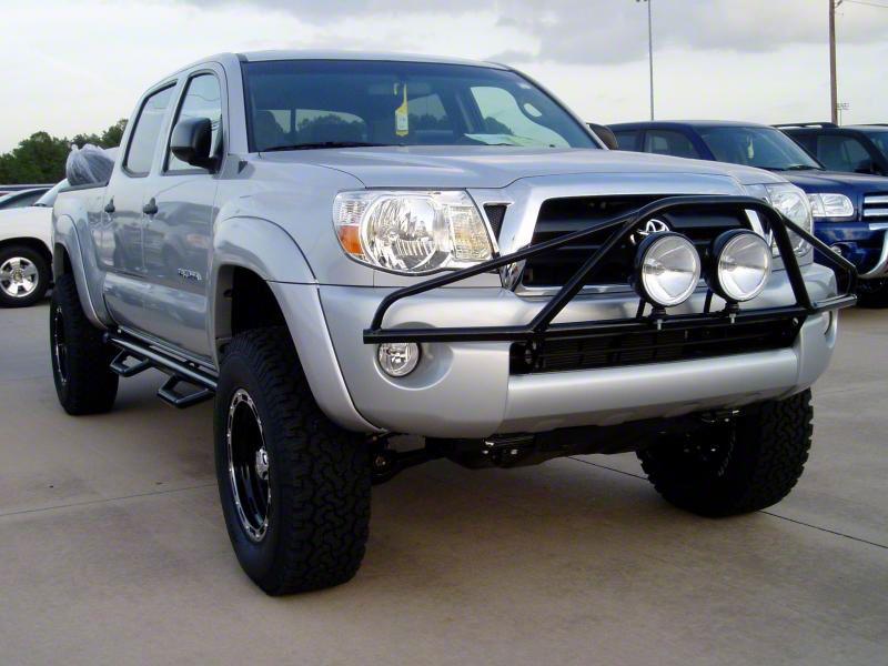 N-Fab L.M.S. PreRunner Front Bumper Light Mount - Textured Black (05-11 Tacoma)