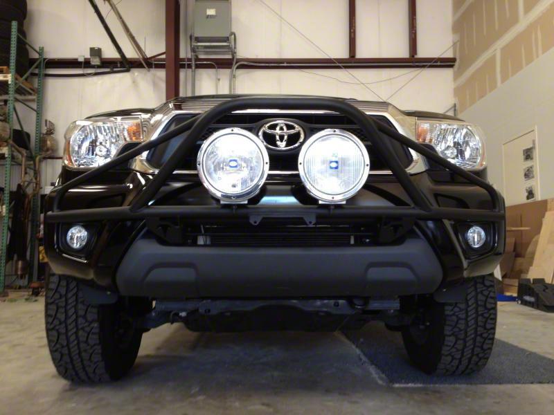 N-Fab L.M.S. PreRunner Front Bumper Light Mount - Textured Black (12-15 Tacoma)
