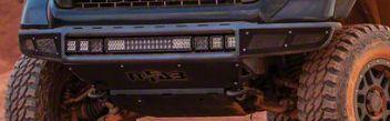 N-Fab M-RDS PreRunner Front Radius Bumper - Gloss Black (16-19 Tacoma)