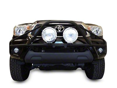 N-Fab L.M.S. PreRunner Front Bumper Light Mount - Gloss Black (16-19 Tacoma)