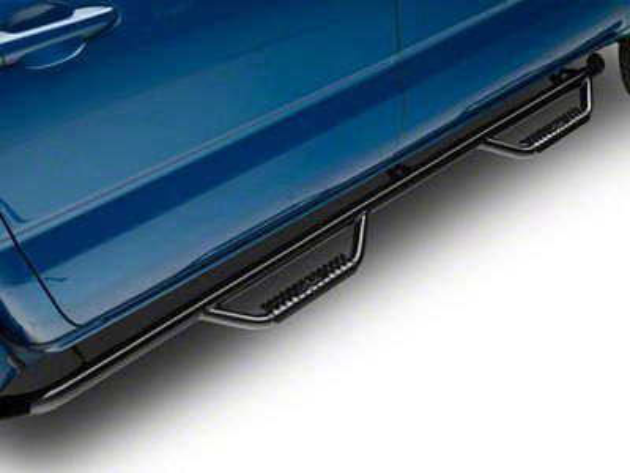 N-Fab Cab Length Nerf Side Step Bars - Gloss Black (16-19 Tacoma Double Cab)