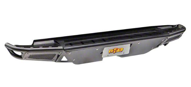 N-Fab RBS-H Rear Bumper - Gloss Black (16-19 Tacoma)