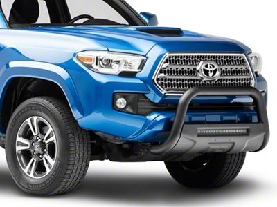 Rough Country Bull Bar w/ 20 in. LED Light Bar - Black (16-19 Tacoma)