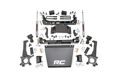 Rough Country 4 in. Suspension Lift Kit (05-15 4WD Tacoma)