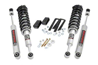 Rough Country 3 in. Suspension Lift Kit w/ Lifted N3 Struts (05-15 Tacoma Pre-Runner; 05-19 4WD Tacoma)