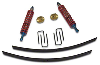 SkyJacker 2.5-3 in. Coilover Suspension Lift Kit w/ Black MAX Shocks (05-15 6-Lug Tacoma, Excluding TRD)
