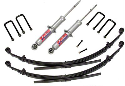 SkyJacker 2.5-3 in. Performance Strut Suspension Lift Kit w/ Black MAX Shocks (05-15 6-Lug Tacoma, Excluding TRD)