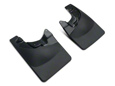 Weathertech No Drill Front MudFlaps - Black (05-15 Tacoma, Excluding X-Runner)