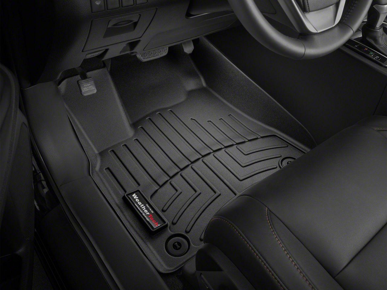 Weathertech DigitalFit Front Floor Liners - Black (12-15 Tacoma Regular Cab, Access Cab)