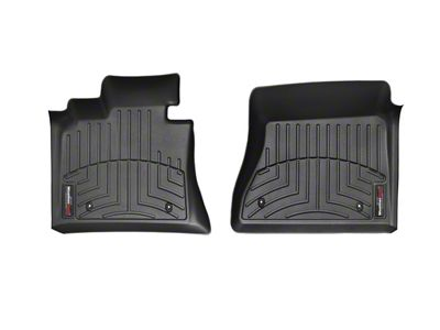 Weathertech DigitalFit Front Floor Liners - Black (12-15 Tacoma Double Cab)