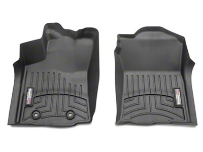 Weathertech DigitalFit Front Floor Liners - Black (16-17 Tacoma)