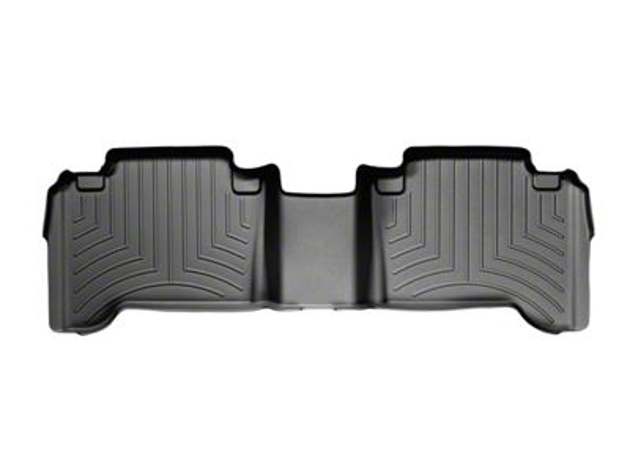 Weathertech DigitalFit Rear Floor Liner - Black (05-15 Tacoma Double Cab)