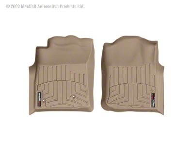 Weathertech DigitalFit Front Floor Liners - Tan (05-07 Tacoma)