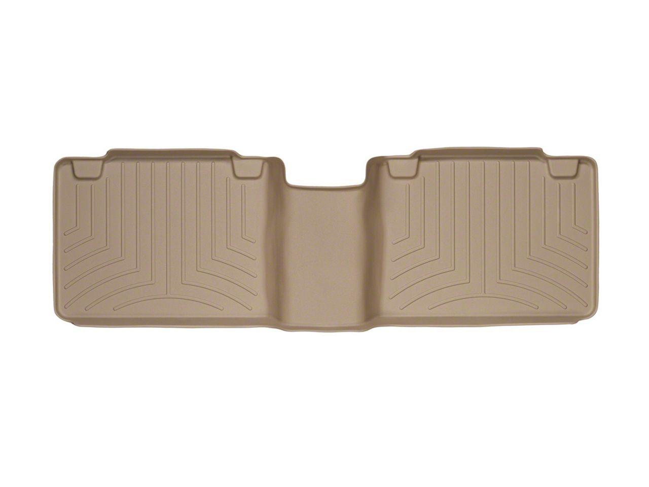 Weathertech DigitalFit Rear Floor Liner - Tan (05-19 Tacoma Access Cab)