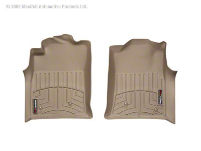Weathertech DigitalFit Front Floor Liners - Tan (08-11 Tacoma)