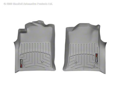 Weathertech DigitalFit Front Floor Liners - Gray (08-11 Tacoma)