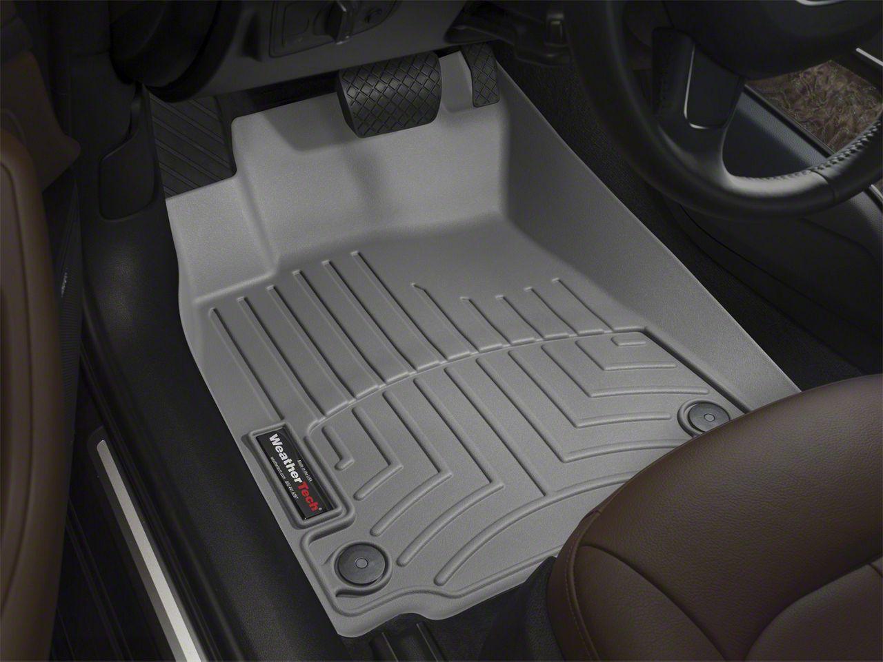 Weathertech DigitalFit Front Floor Liners - Gray (12-15 Tacoma Regular Cab, Access Cab)