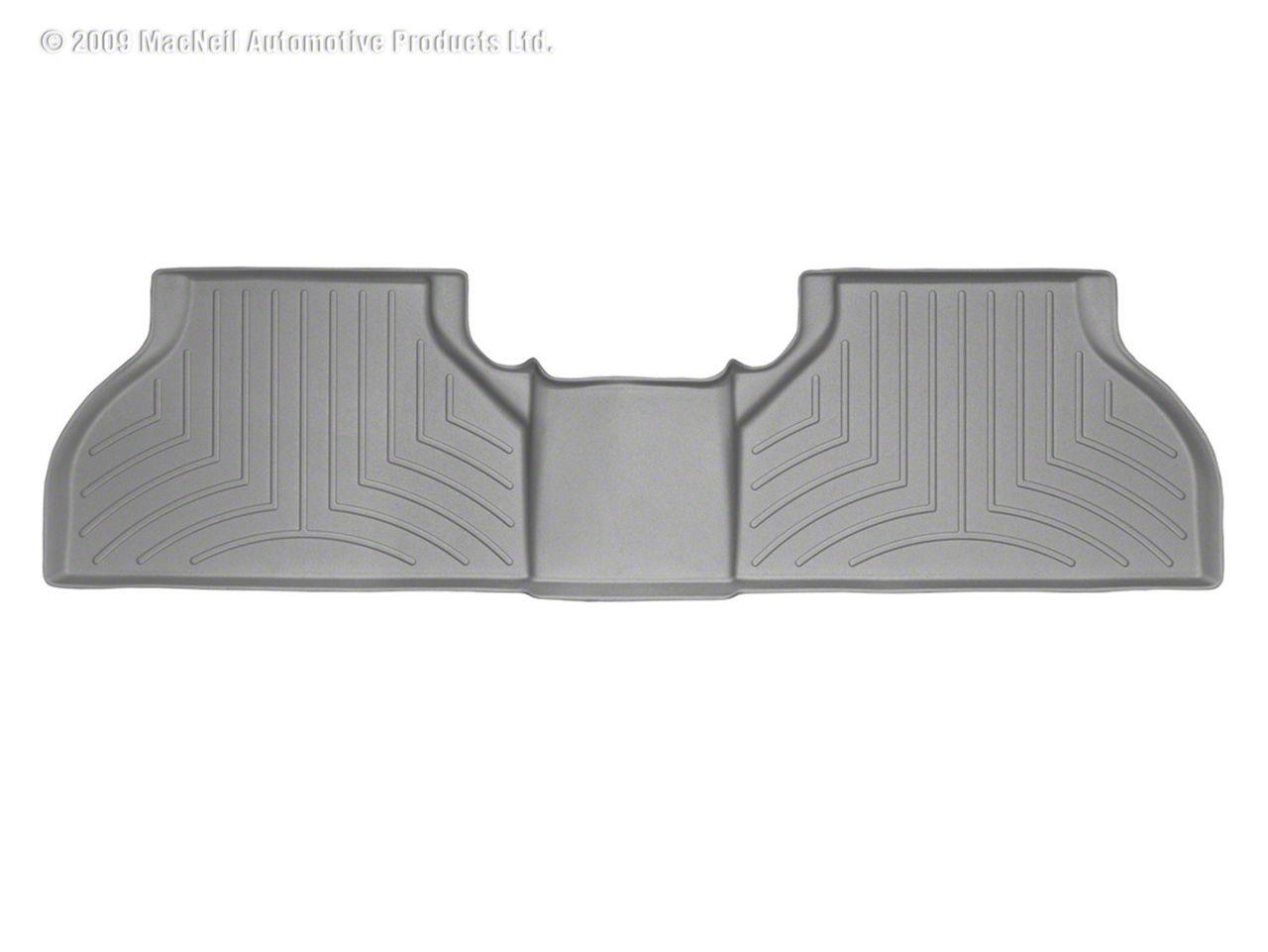 Weathertech DigitalFit Rear Floor Liner - Gray (16-19 Tacoma Double Cab)