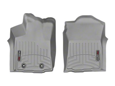 Weathertech DigitalFit Front Floor Liners - Gray (16-17 Tacoma)