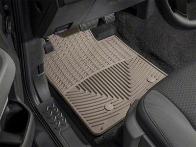 Weathertech All Weather Front Floor Mats - Tan (05-11 Tacoma)