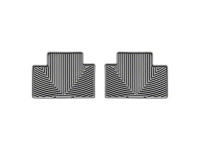 Weathertech All Weather Rear Floor Mats - Gray (05-15 Tacoma Access Cab, Double Cab)