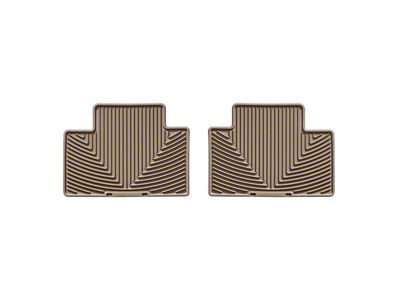 Weathertech All Weather Rear Floor Mats - Tan (05-15 Tacoma Access Cab, Double Cab)