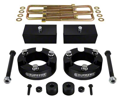 Supreme Suspensions 2.5 in. Front / 1.5 in. Rear Pro Billet Lift Kit (05-19 4WD Tacoma)