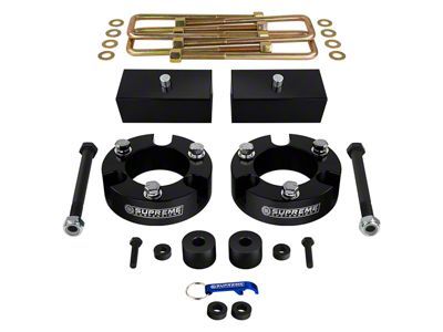 Supreme Suspensions 3 in. Front / 2 in. Rear Pro Billet Lift Kit (05-19 4WD Tacoma)