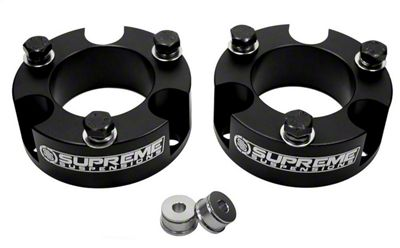 Supreme Suspensions 3 in. Pro Billet Strut Spacers (05-19 6-Lug Tacoma)