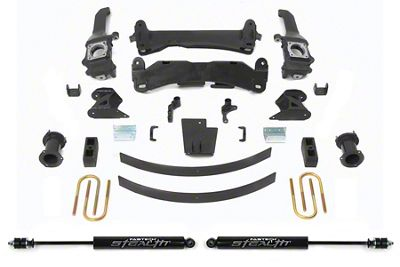Fabtech 6 in. Basic Lift System w/ Stealth Shocks (16-19 Tacoma)