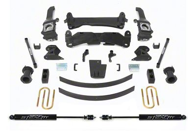 Fabtech 6 in. Basic Lift System w/ Stealth Shocks (05-14 6-Lug Tacoma)
