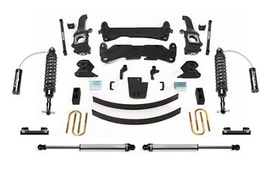Fabtech 6 in. Performance Lift System w/ Dirt Logic Reservoir Coilovers & Shocks (05-14 6-Lug Tacoma)