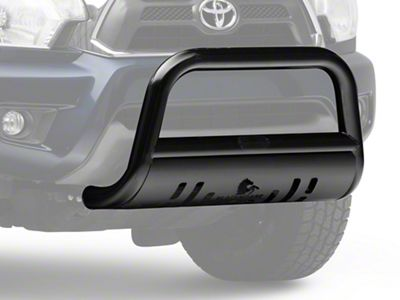 Black Horse Off Road Bull Bar w/ Black Skid Plate - Black (05-15 Tacoma)