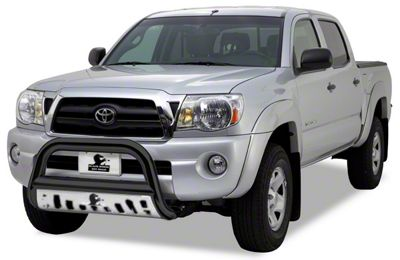 Black Horse Off Road Bull Bar w/ Stainless Steel Skid Plate - Black (05-15 Tacoma)