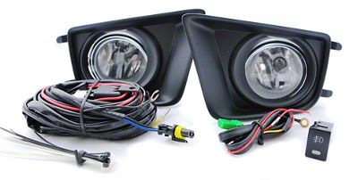 Black Horse Off Road Factory Style Fog Lights (12-14 Tacoma)