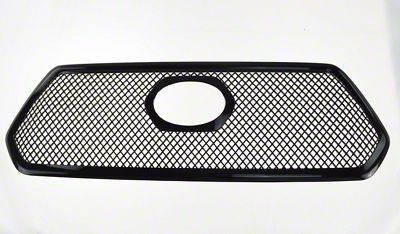 Black Horse Off Road Mesh Upper Overlay Grille - Black (16-17 Tacoma)