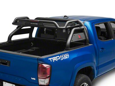 Black Horse Off Road Atlas Roll Bar - Black (16-19 Tacoma)