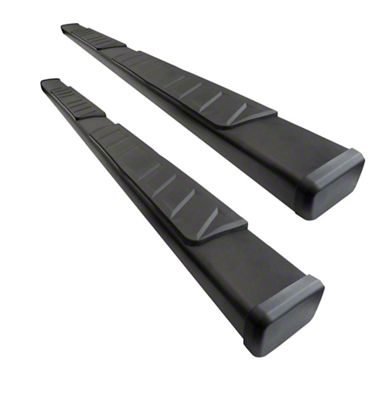 Black Horse Off Road Summit Running Boards - Black (05-19 Tacoma Double Cab)