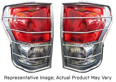 Black Horse Off Road Tail Light Guards - Stainless Steel (08-13 Tacoma)