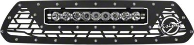 Vision X Upper Replacement Grille w/ LED Light Bar - Black (12-15 Tacoma)