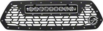 Vision X Upper Replacement Grille w/ LED Light Bar - Black (16-19 Tacoma)